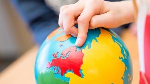 Montessorimaterial Globus