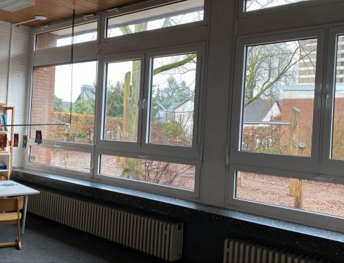 Neue Fenster für die Pavillons